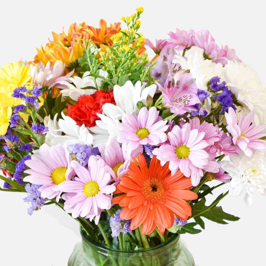 MEGA Ramo variado con flores de temporada 1